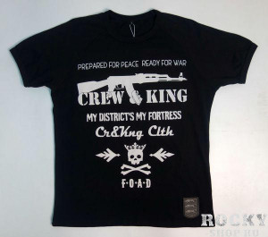 Футболка F.O.A.D. (F#ck Off And Die) CrewandKing